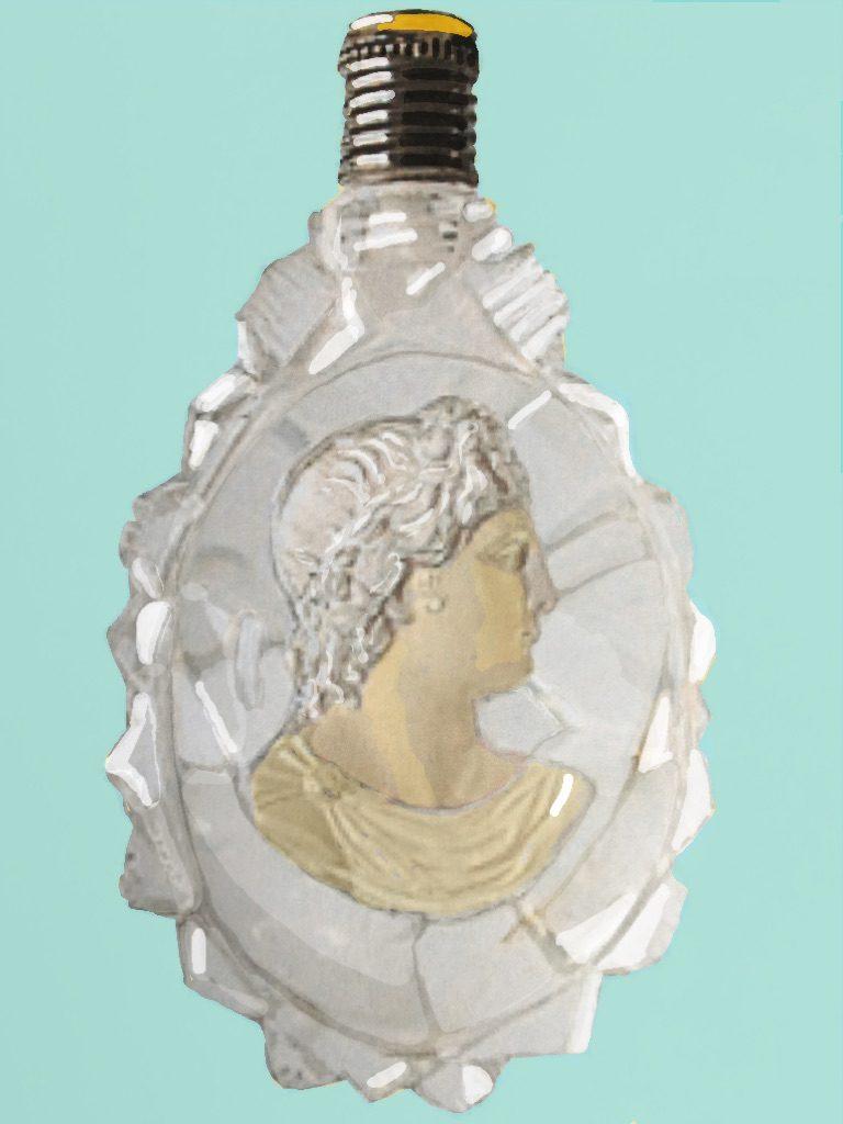 Astley Pellatt's famous glass encrustations (1830)