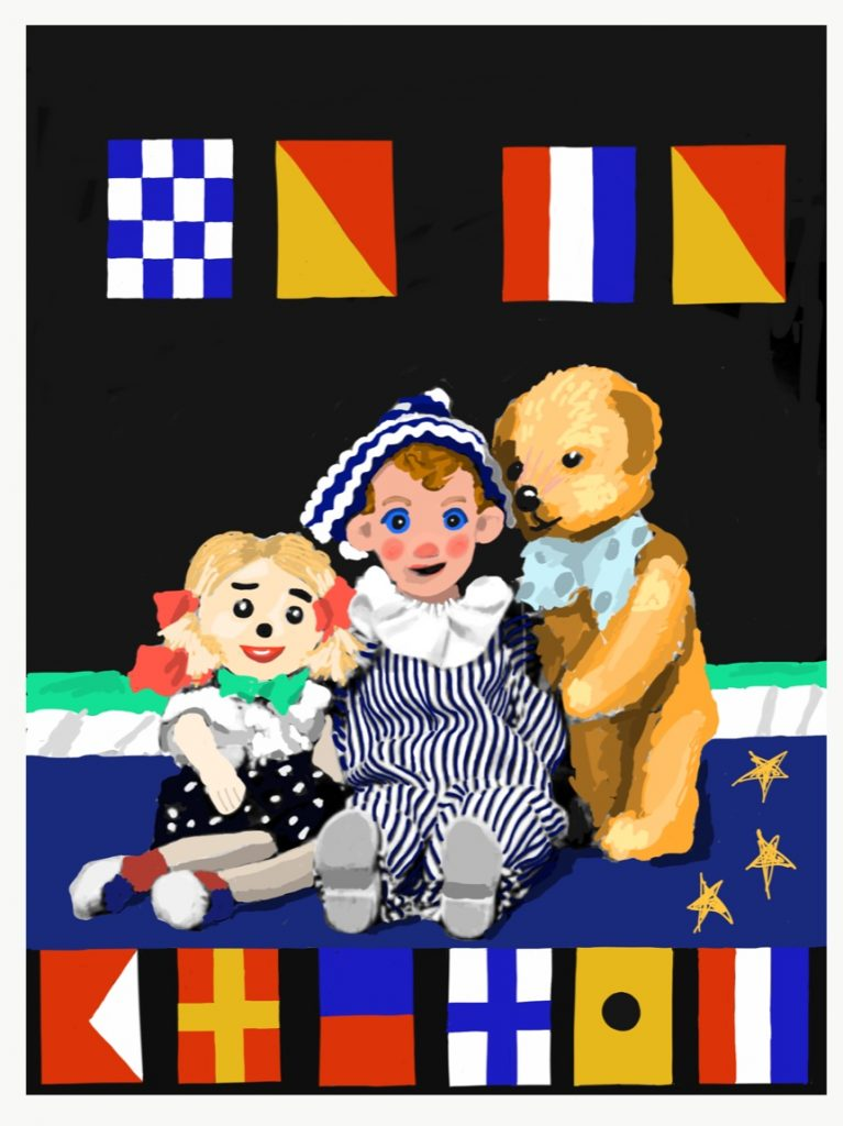 1951: Watch with Mother, BBC television programme with Andy Pandy