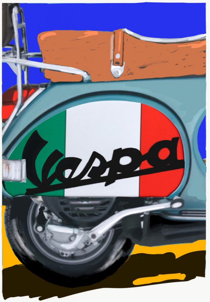 1965: Vespa scooters and the Mods and Rockers turf wars begin