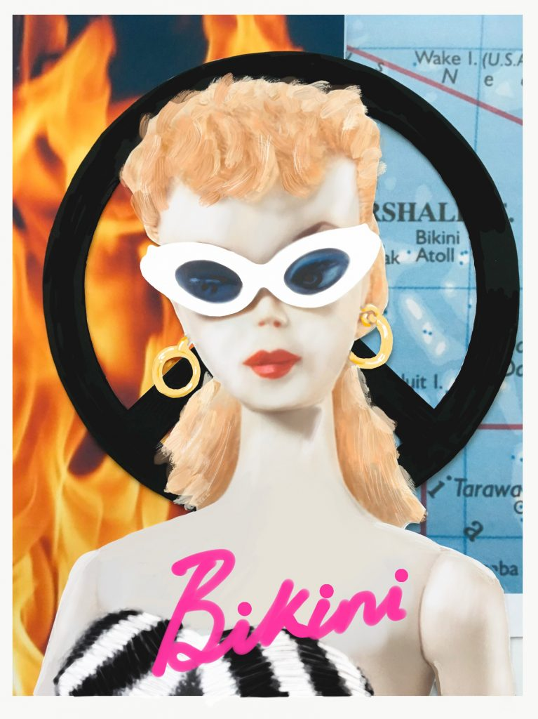 1958: Barbie doll goes on sale and the US and UK continue to test atomic weapons on Bikini Atoll, south Pacific