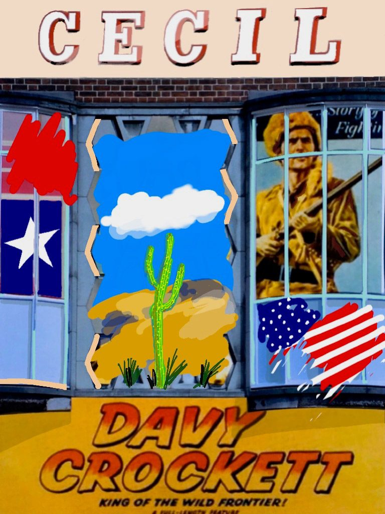 """1957: Davy Crockett """"King of the Wild Frontier"""" at the Cecil cinema"""