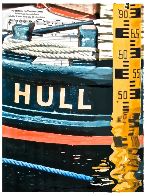 1950: The port of Hull on the Humber estuary (1)
