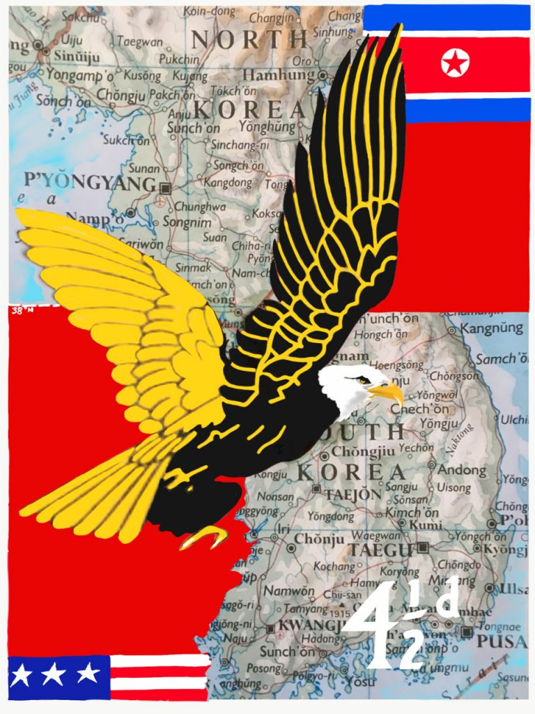 1955: the 38th parallel, the Eagle comic and the end of the Korean War?