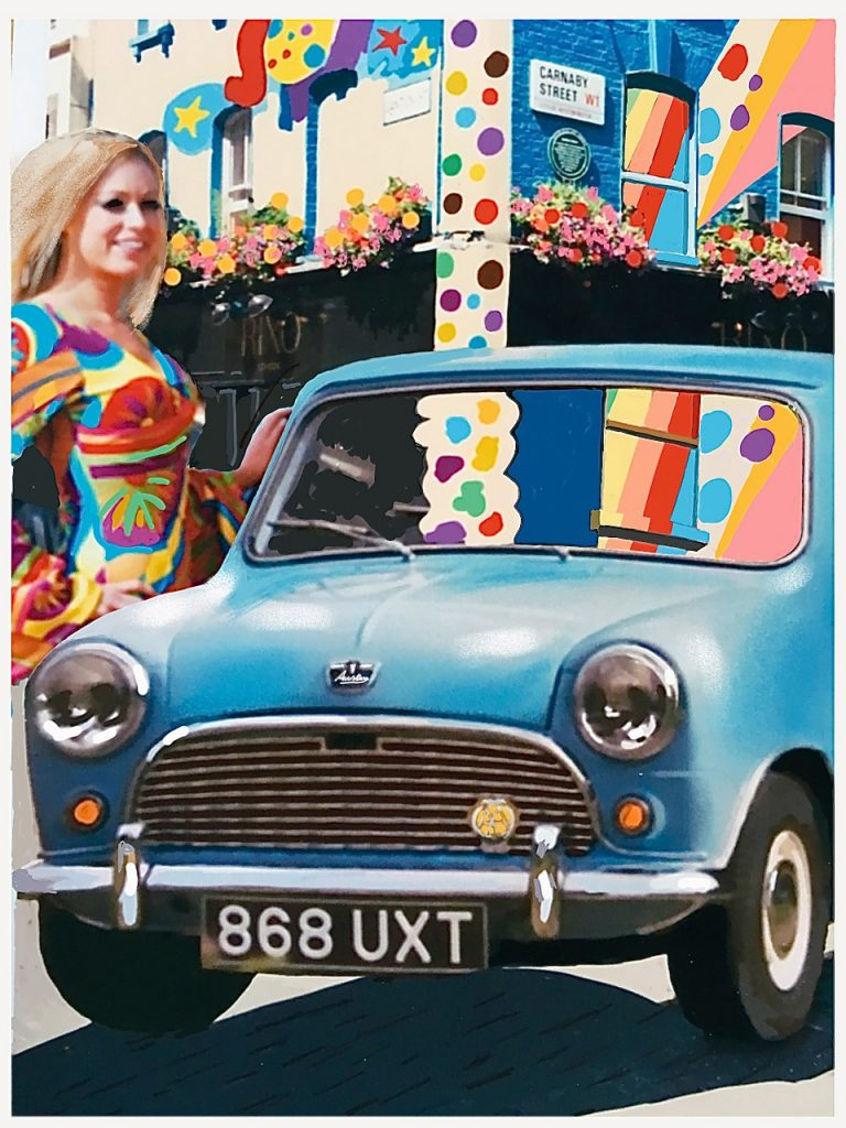 1965: London's Carnaby Street goes psychedelic and the mini rules Britannia