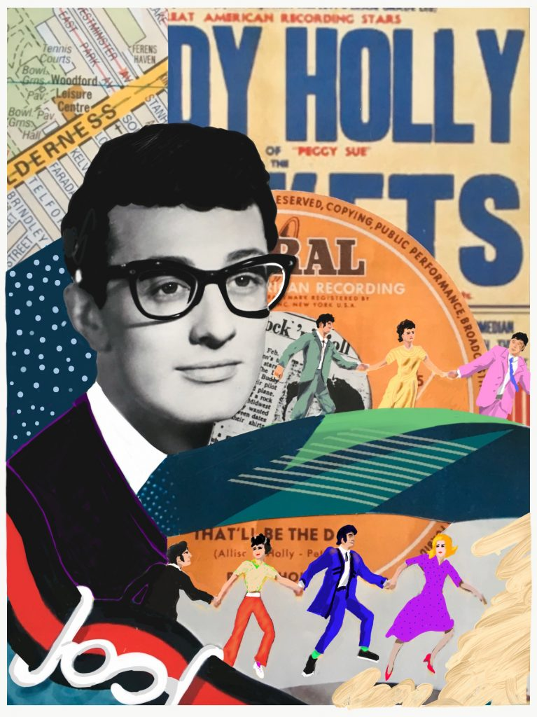 1958: Buddy Holly and the Crickets perform at the ABC; he dies 11 months later in a plane crash