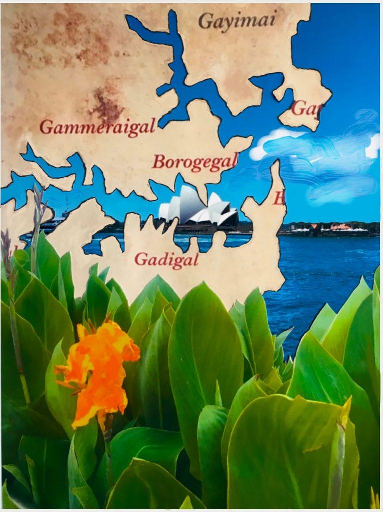Gadigal in Sydney Harbour